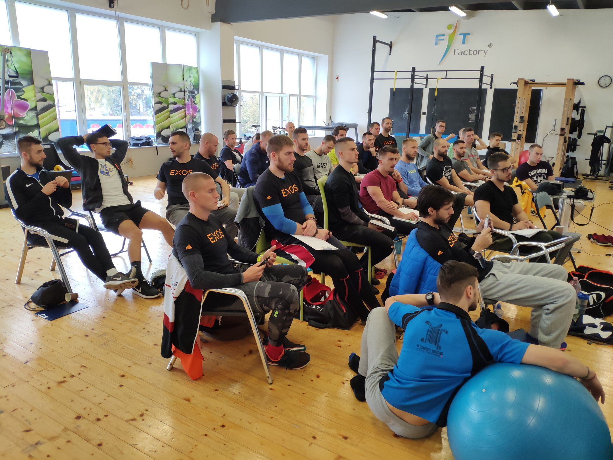 Kurz EXOS Performance Mentroship na Slovensku